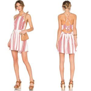 Lovers + Friends x Revolve Forget Me Not Dress Red